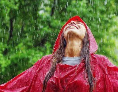 mersul prin ploaie